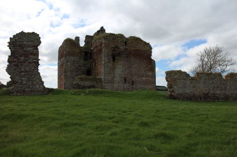 Cessford Castle, St Cuthbert's Way 2