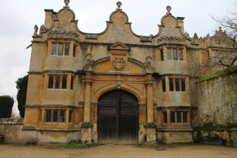 Jacobean Gate, Stanway Manor, Cotswold Way