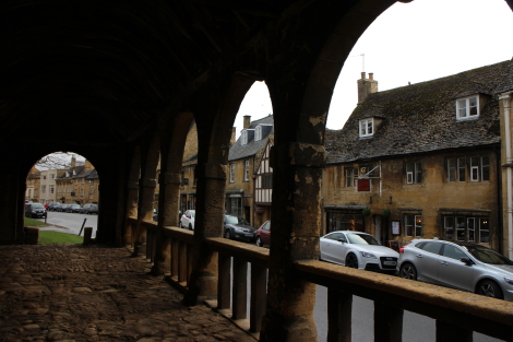 Market Hall, Chipping Camden, Cotswold Way