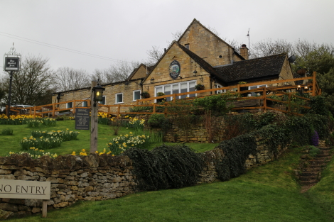 Mount Inn, Stanton, Cotswold Way