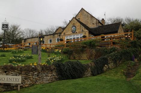 Mount Inn, Stanton, Cotswold Way