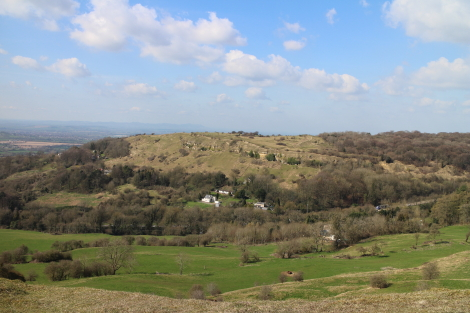 View to Crickley Park, Cotswold Way