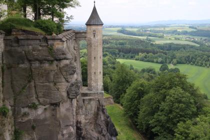 Fortress Konigstein Wall