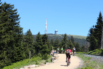 Goetheweg up to the Brocken