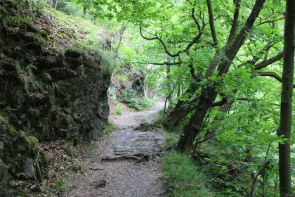 Hexensteig gorge path