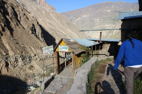 Llahuar Lodge, Lower Canyon, Colca Canyon