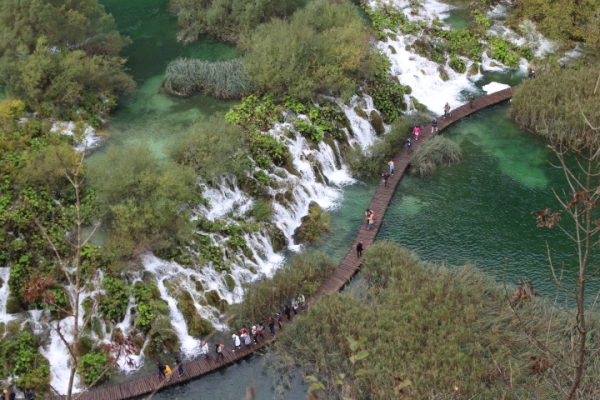 View of Lower Lakes, Plitvice Lakes