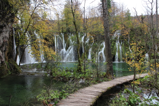 Waterfall, Upper Lakes, Plitvice Lakes