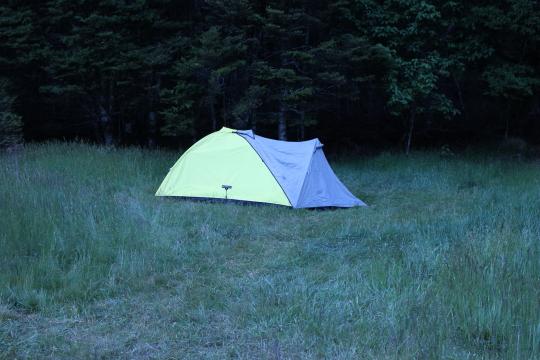 Camping Routeburn Flats