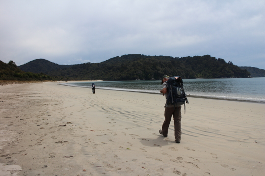 Rakiura beachside walking