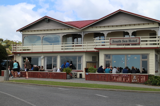 Rakiura South sea hotel