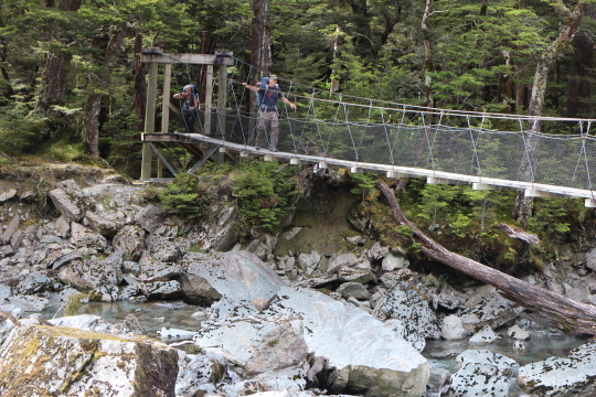 Swing Bridge Routeburn