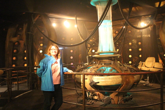 In the Tardis, Dr Who Experience
