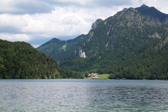 View across Alpsee